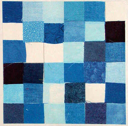 Blue Monochromatic Color Scheme google image result for http://www.adventurequilter